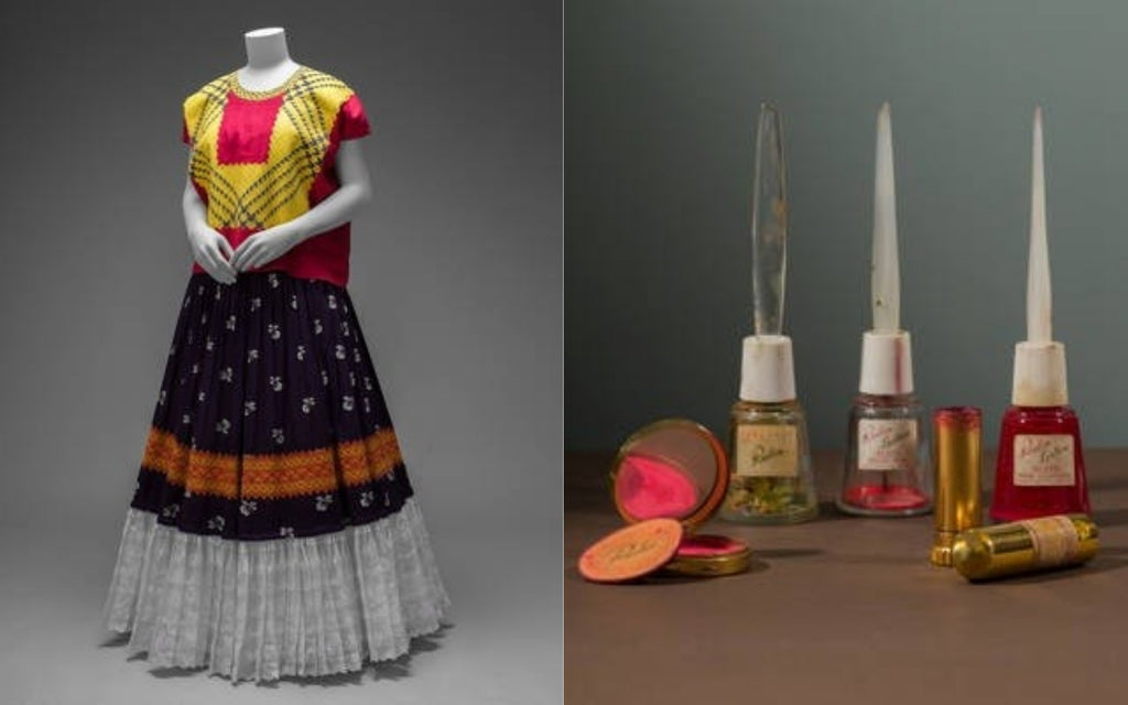 Frida Khalo Clothes and Make-up in V&A