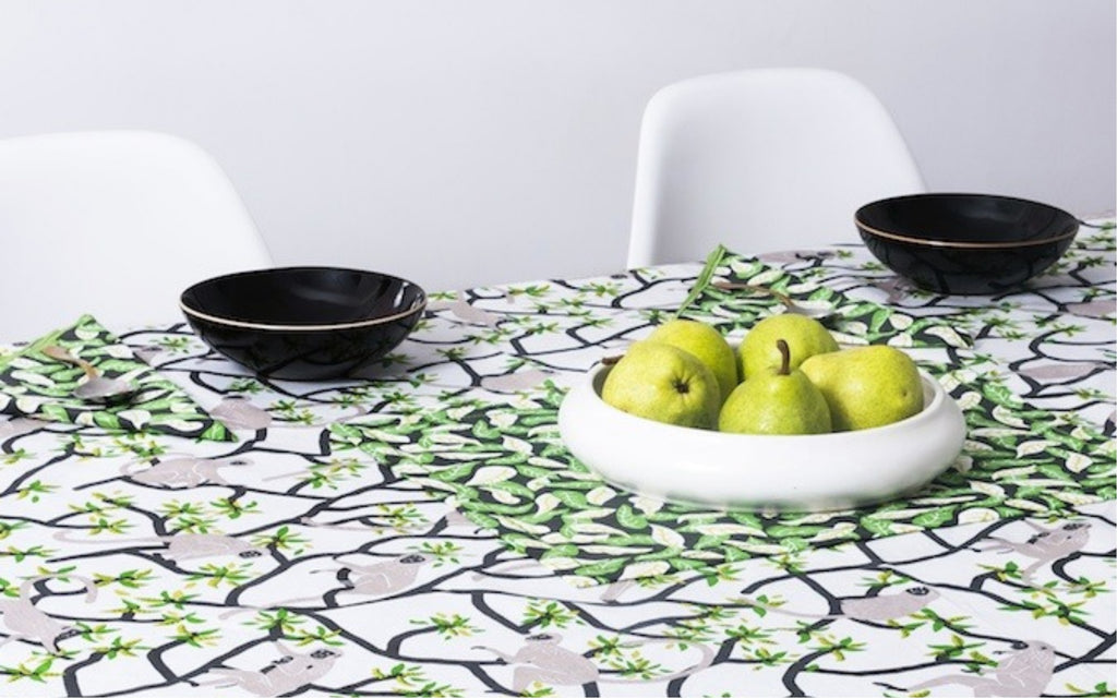 Langur Placemats and Napkins