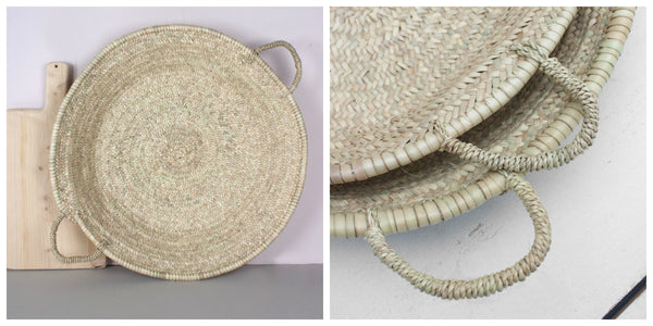 Moroccan Woven Plate - Wedding Gift Ideas
