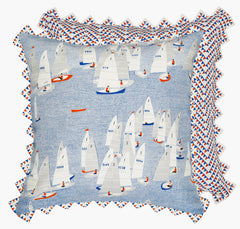 Regatta Cushion Postcards Home