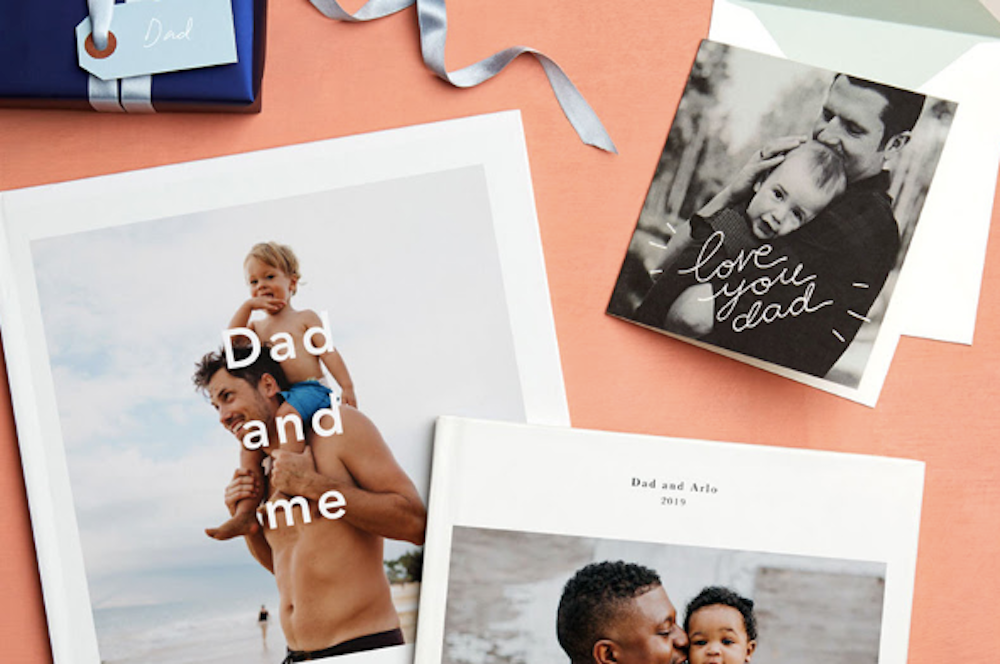 Paper Photo Books for Fathers Day 2019