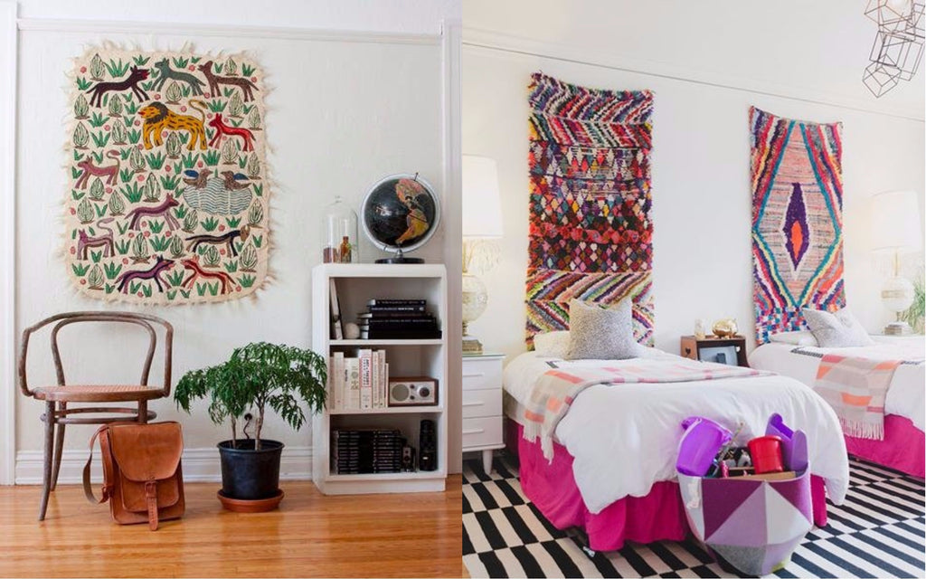 Throw or Rug as Home Decor - Interior Inspiration