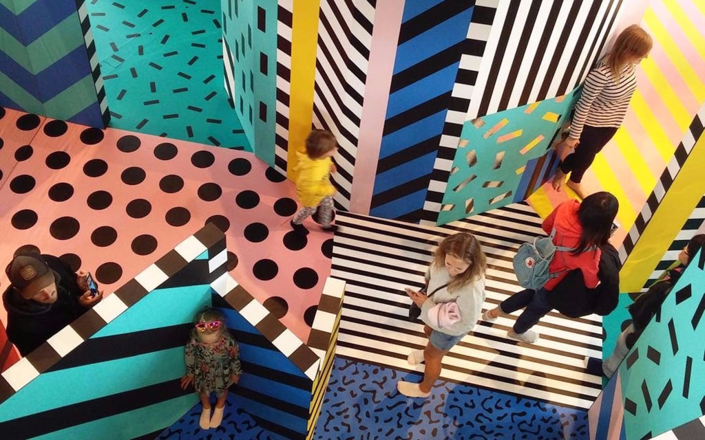 Camille Walala X Play at Now Gallery Greenwich Summer 2017