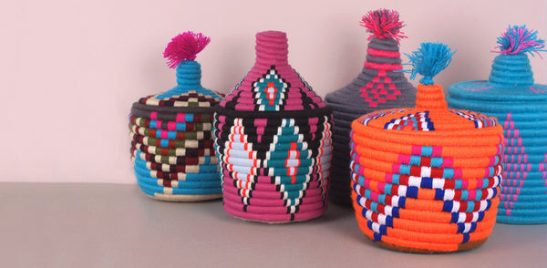 Berber Bread Baskets - Wedding Gift Ideas