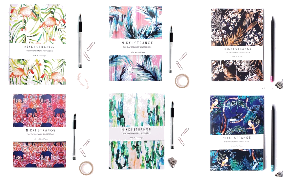 Pretty Notebooks - Great Stocking Fillers