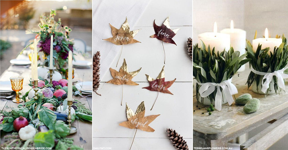 Autumn Table Decor - Postcards Home