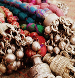 Jhumka Sari Bead Necklace - Postcards Home