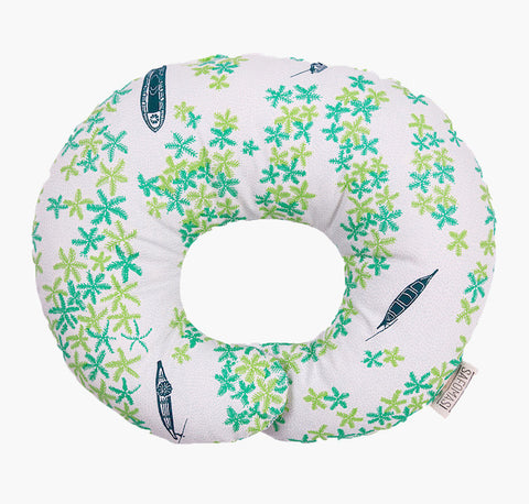 A Bird's Eye View Baby Pillow