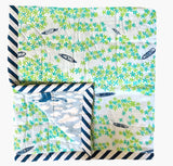 A Bird's Eye View Baby Quilt - Postcards Home