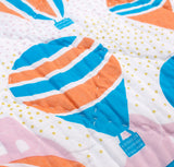 Balloons at Dawn Double Quilt - Handmade by Safomasi