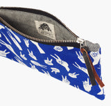 Blue Peace Sign Pouch