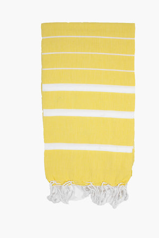 Hammam Towel - Yellow - Postcards Home