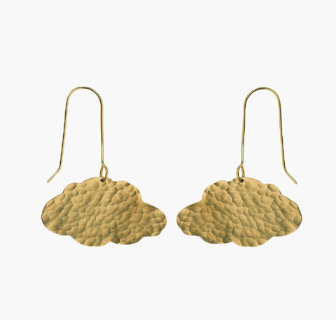 Fair Trade Cloud Earrings