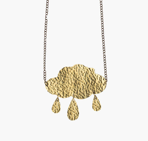 Fair Trade Cloud Necklace