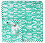 Coconut Palm Pickers Double Quilt - Safomasi - Postcards Home