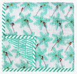 Coconut Palm Pickers Baby Quilt - Safomasi - Postcards Home