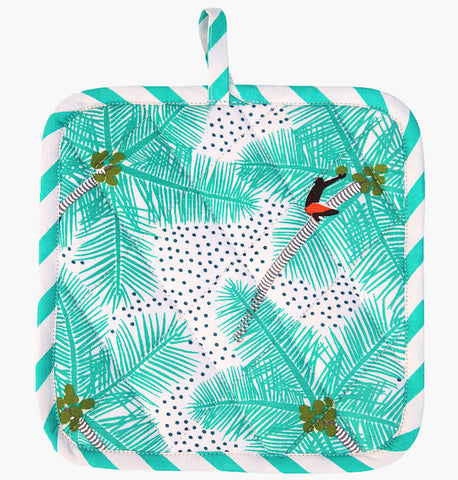 Coconut Palm Pickers Pot Holder - Safomasi Kitchenware