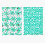 Alleppey Tea Towels - Set of Two - Postcards Home