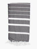 Turkish Hammam Towel - Grey - Postcards Home - Handmade in Turkey - Travel