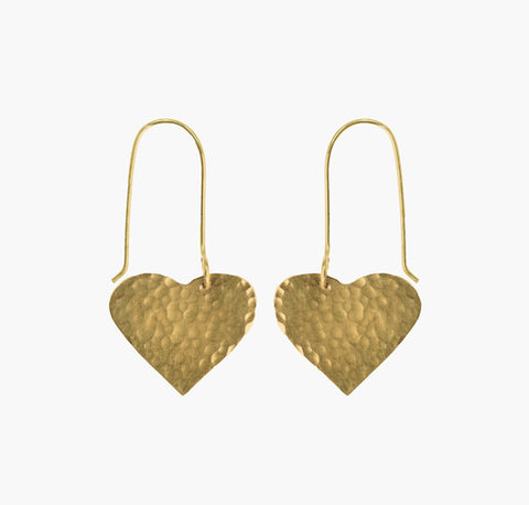 Fair Trade Heart Earrings