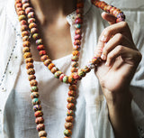 Single String Sari Bead Necklace - Postcards Home