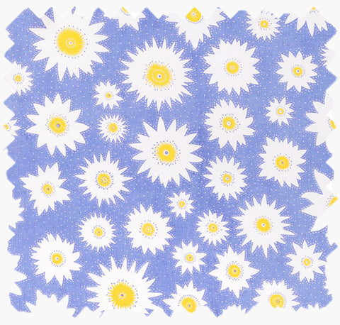Lily Flower Cotton Linen Fabric for home decor