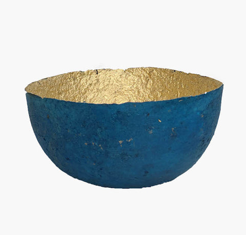 Metallic Paper Bowl - Medium - Fair Trade Home Decor