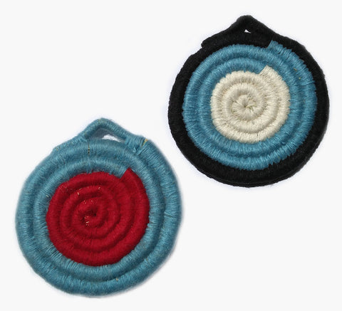Moroccan Woven Coasters - Set of Two