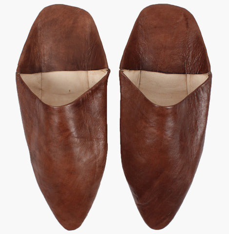 Moroccan Men's Pointed Babouche Slippers - Perfect Gift for Men who love fashion and bohemian style