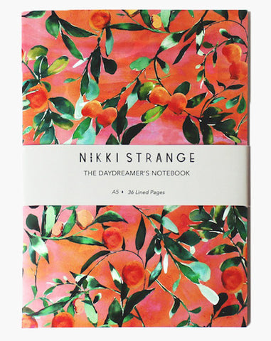 A5 Notebook - Orange Tree