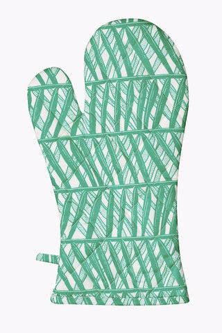 Palm Weave Oven Glove - Postcards Home