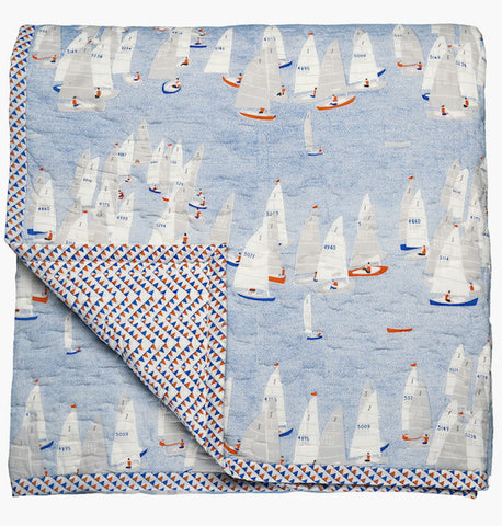 Regatta Double Quilt - Postcards Home