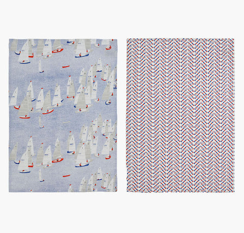 Safomasi - Regatta Tea Towels - Set of Two