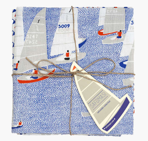 Regatta Tea Towels - Set of Two - Postcards Home