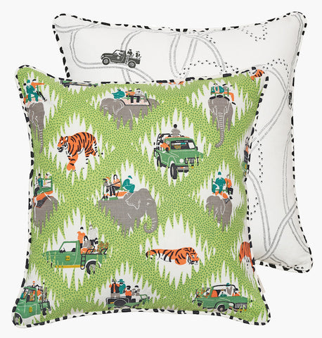 Safari Tracks Cushion - Postcards Home