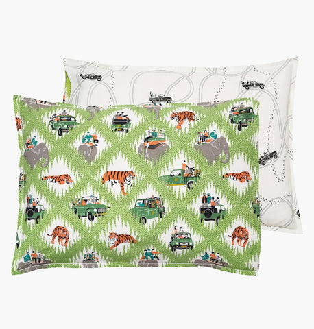 Safari Tracks Pillowcase - Postcards Home