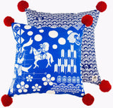 Japanese Festival Cushion - Postcards Home