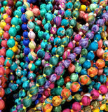 Sari Bead Necklace - Multi String - Postcards Home