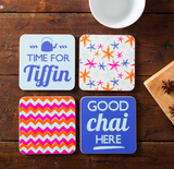 Piccadelhi Coasters - Set of Four