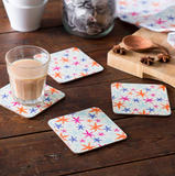 Star Anise Coasters - Set of Four