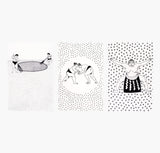 Sumo Tea Towels - Set of Three