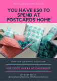 Gift Voucher from Postcards Home - Homeware and Gifts for Christmas