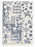 Blue Festival Woven Throw