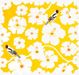 Yellow Weaver Cotton Linen Fabric for home decor
