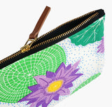 Lily Pad Pouch Handmade by Safomasi for Postcards Home