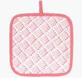 Pink Coral Reef Pot Holder - Handmade by Safomasi for Postcards Home