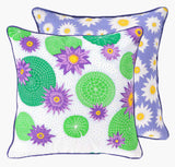 Victoria Lily Cushion - Handmade by Safomasi for Postcards Home