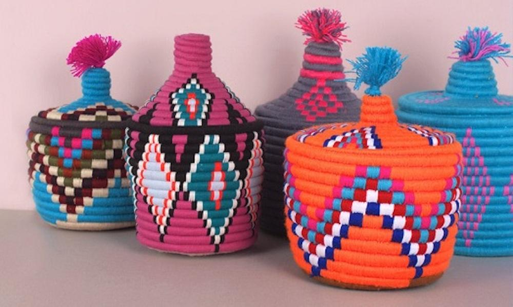Vintage Moroccan Storage Pots from Bohemia Design