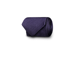 Silk tie in purple (4299969232958)
