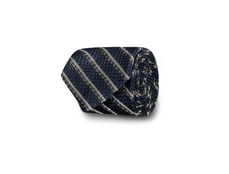Grenadine tie in blue stripe (2319229780030)